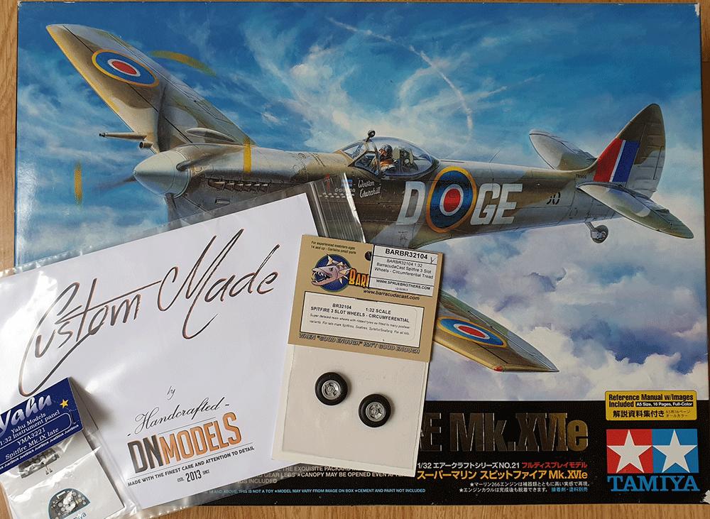 Yahu Models YMA3221 1//32 PE Supermarine Spitfire Mk.IXc late instrument panel